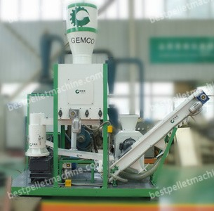 MPL300 small movable pellet plant