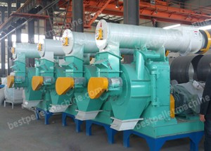 large ring die pellet machine