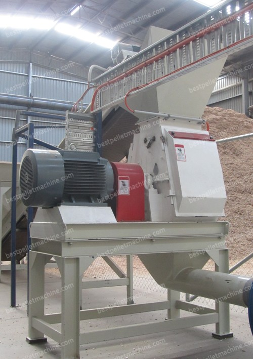 hammer mill for wood pellet mill