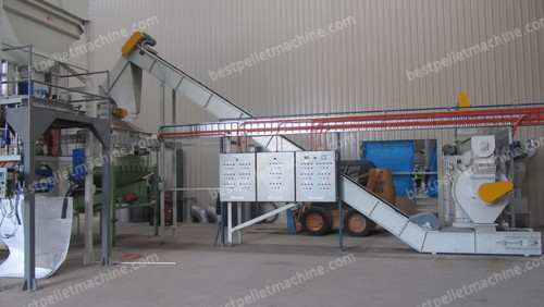 pellet mill of wood pellet mill plant