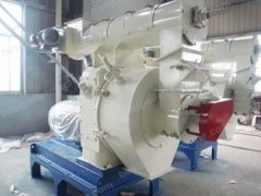 wood sawdust pellet plant shipped to vietnam